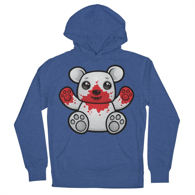 Polar Bear Cub First Kill Men's Pullover Hoody by Fizzgig's Artist Shop