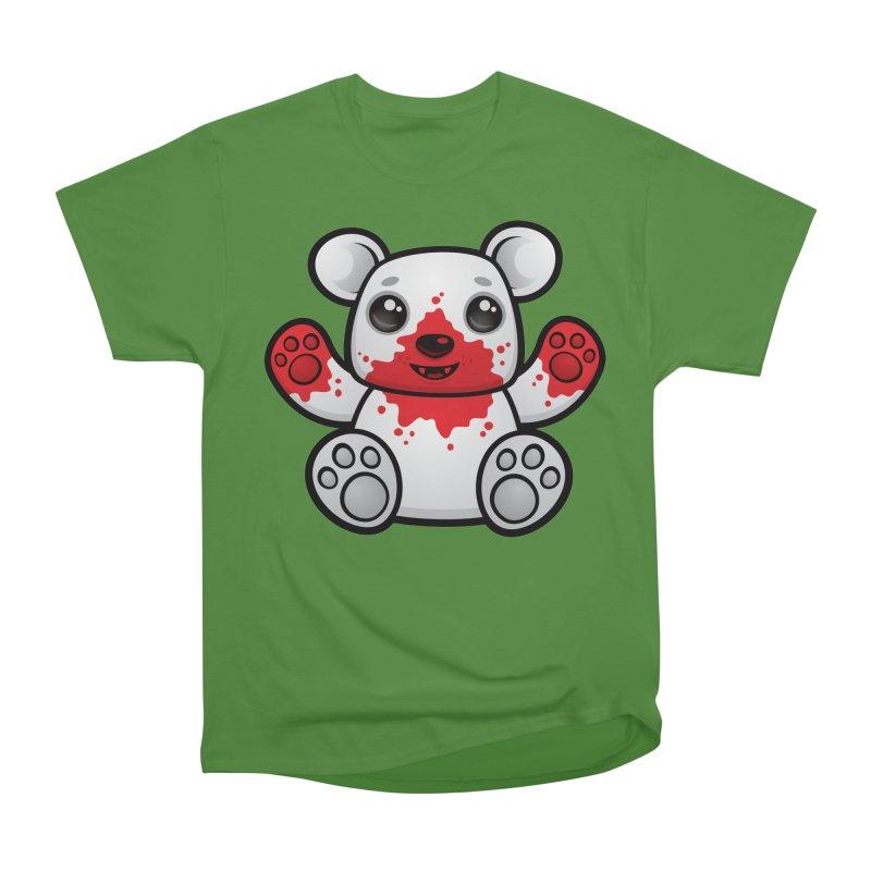 Polar Bear Cub First Kill Women's Classic Unisex T-Shirt by Fizzgig's Artist Shop