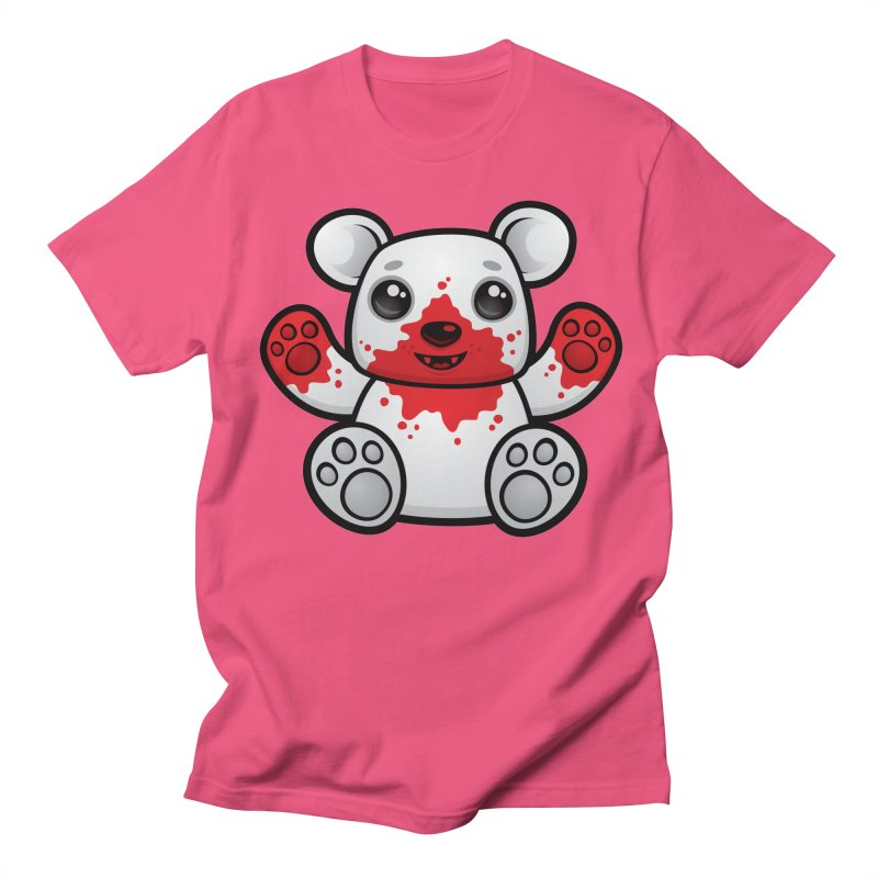 Polar Bear Cub First Kill Women's Unisex T-Shirt by Fizzgig's Artist Shop