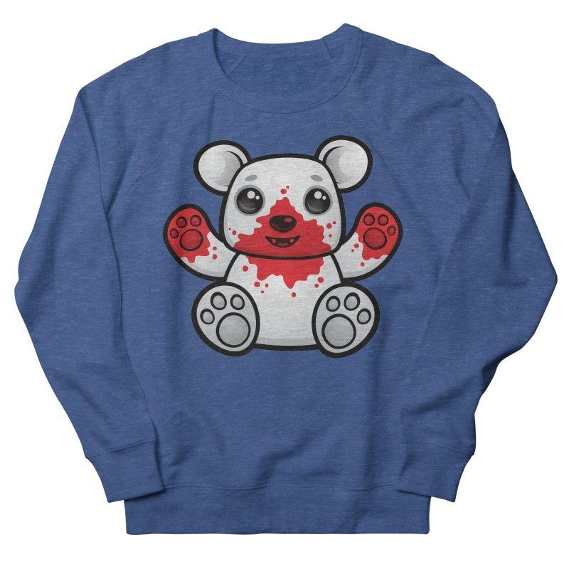 Polar Bear Cub First Kill Women's Sweatshirt by Fizzgig's Artist Shop