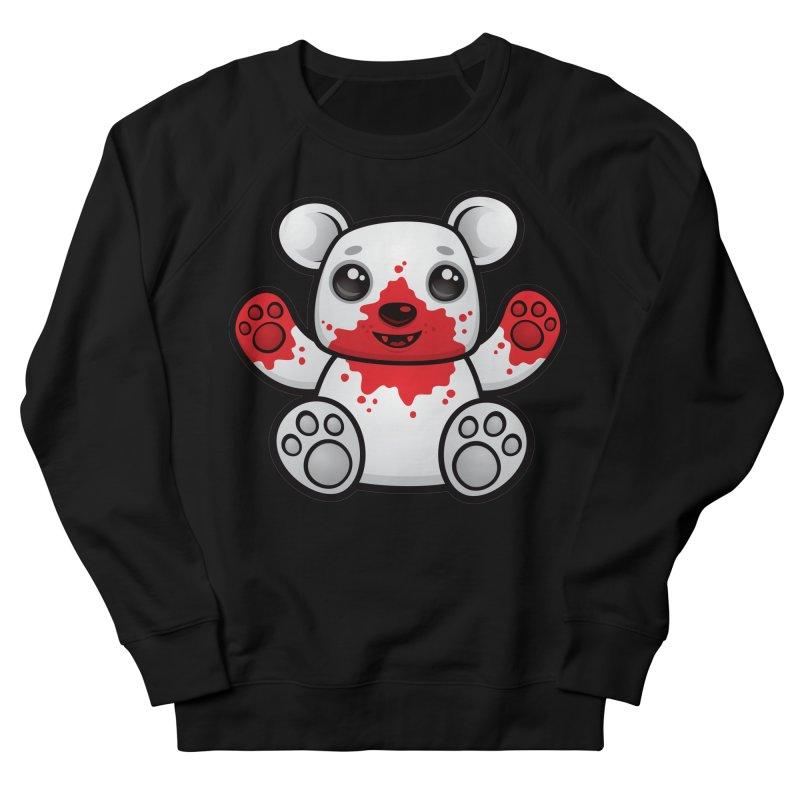 Polar Bear Cub First Kill Men's Sweatshirt by Fizzgig's Artist Shop