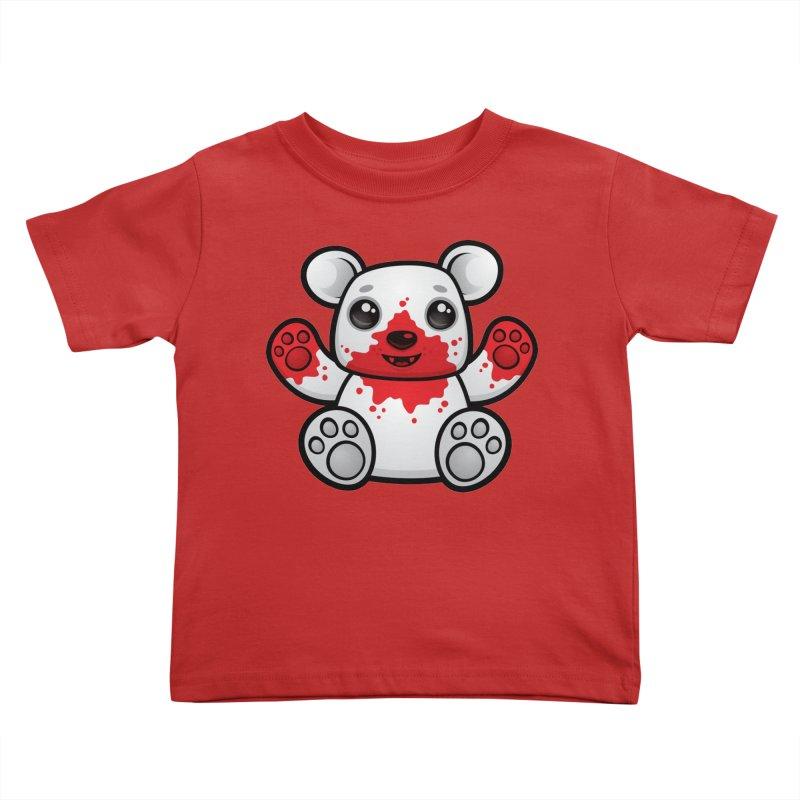 Polar Bear Cub First Kill Kids Toddler T-Shirt by Fizzgig's Artist Shop