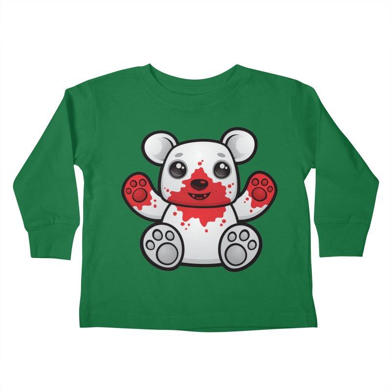 Polar Bear Cub First Kill Kids Toddler Longsleeve T-Shirt by Fizzgig's Artist Shop