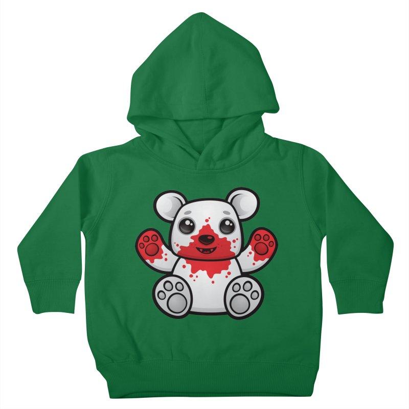 Polar Bear Cub First Kill Kids Toddler Pullover Hoody by Fizzgig's Artist Shop
