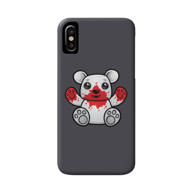 Polar Bear Cub First Kill Accessories Phone Case by Fizzgig's Artist Shop