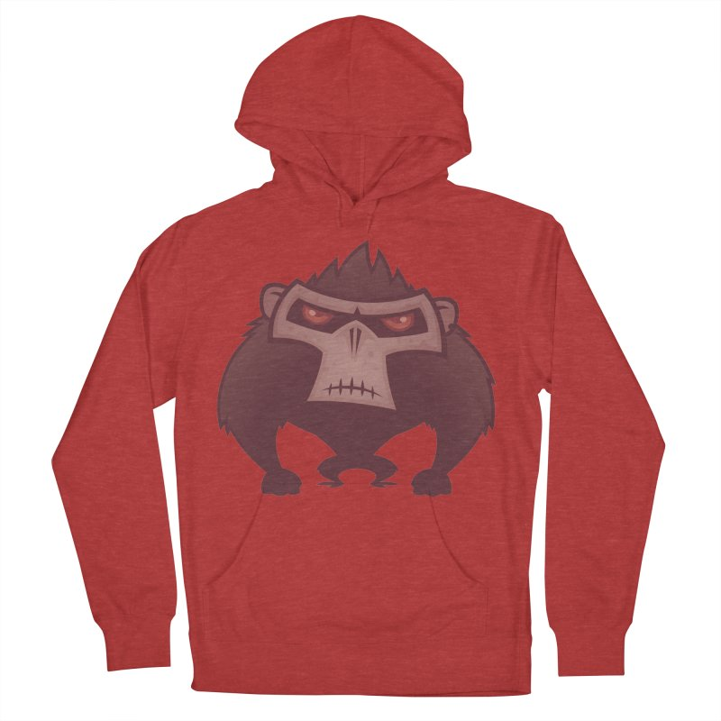 Angry Ape Men's Pullover Hoody by Fizzgig's Artist Shop