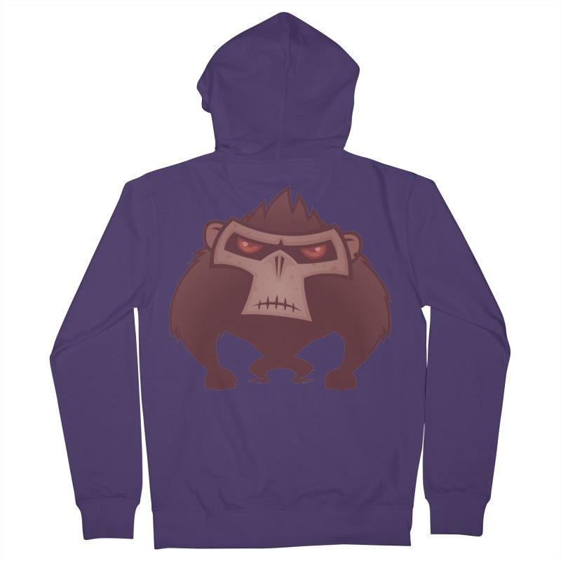 Angry Ape Women's Zip-Up Hoody by Fizzgig's Artist Shop