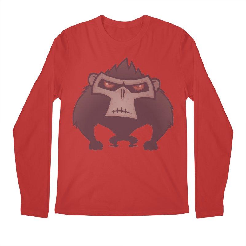 Angry Ape Men's Longsleeve T-Shirt by Fizzgig's Artist Shop