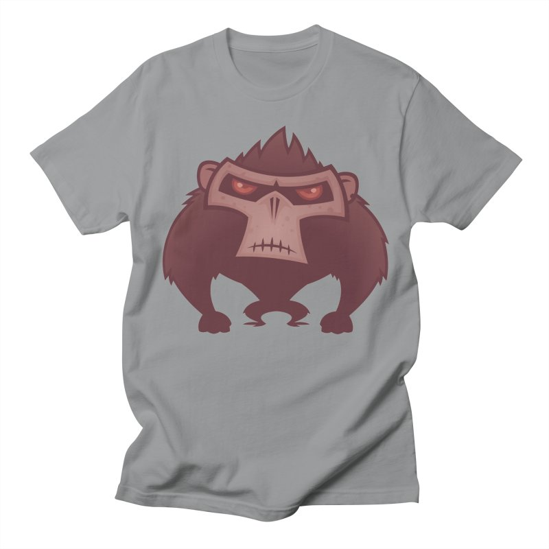 Angry Ape Men's T-Shirt by Fizzgig's Artist Shop