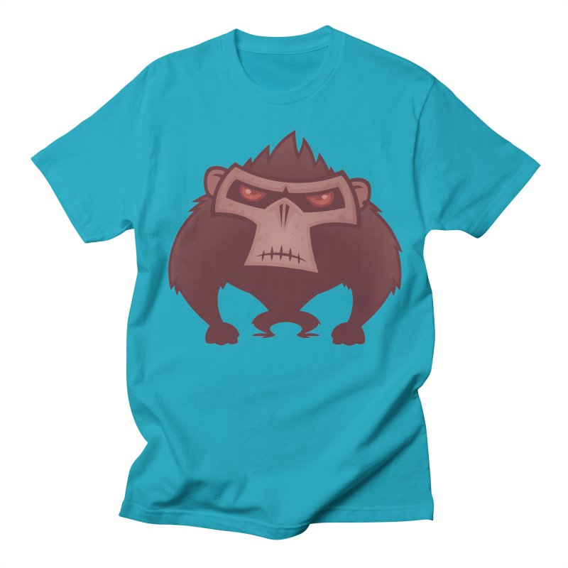 Angry Ape Women's Unisex T-Shirt by Fizzgig's Artist Shop