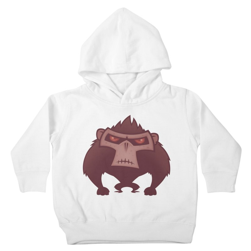 Angry Ape Kids Toddler Pullover Hoody by Fizzgig's Artist Shop