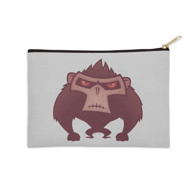 Angry Ape Accessories Zip Pouch by Fizzgig's Artist Shop