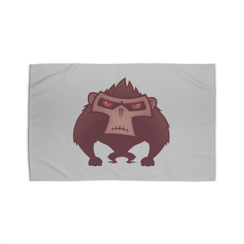 Angry Ape Home Rug by Fizzgig's Artist Shop