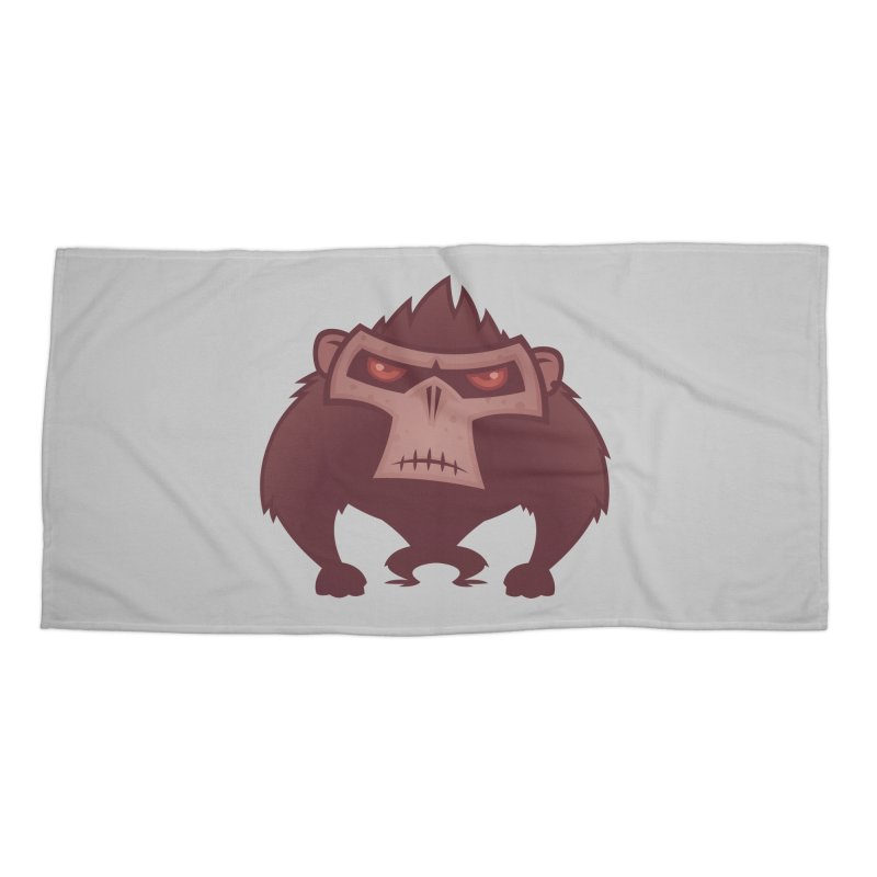 Angry Ape Accessories Beach Towel by Fizzgig's Artist Shop