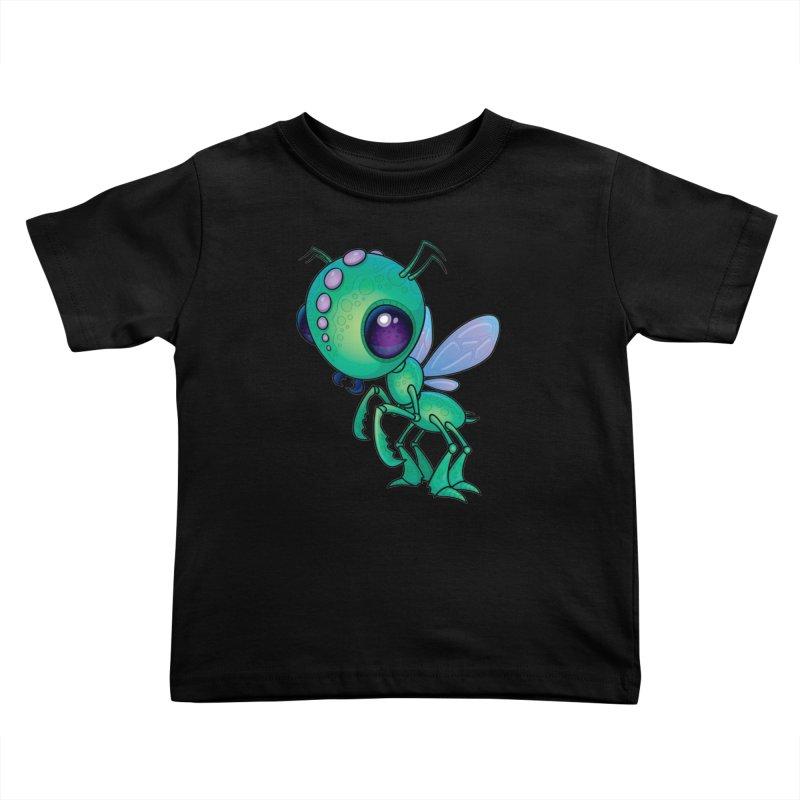 Chirpee Kids Toddler T-Shirt by Fizzgig's Artist Shop