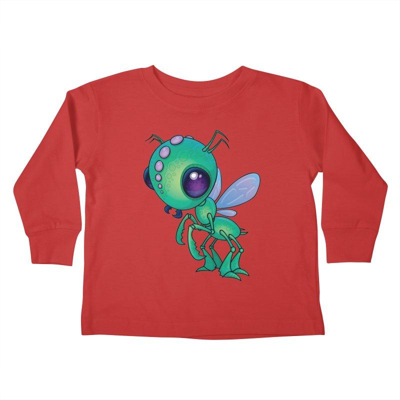 Chirpee Kids Toddler Longsleeve T-Shirt by Fizzgig's Artist Shop