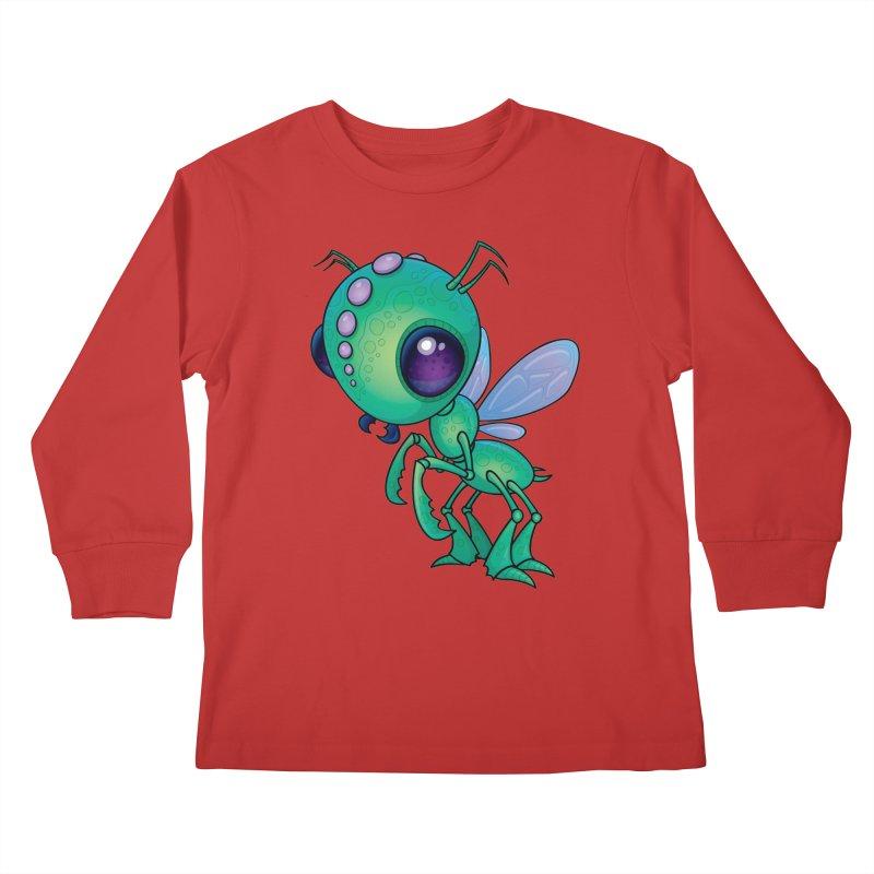 Chirpee Kids Longsleeve T-Shirt by Fizzgig's Artist Shop