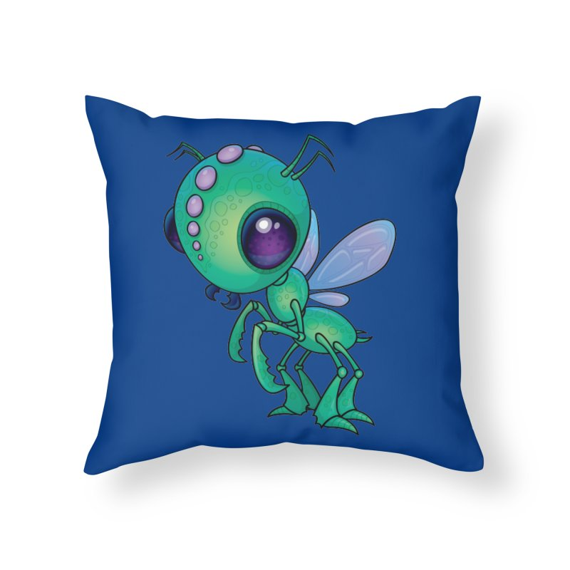 Chirpee Home Throw Pillow by Fizzgig's Artist Shop
