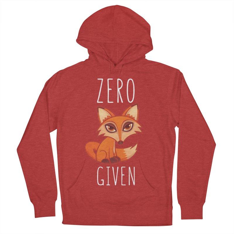 Zero Fox Given Men's Pullover Hoody by Fizzgig's Artist Shop