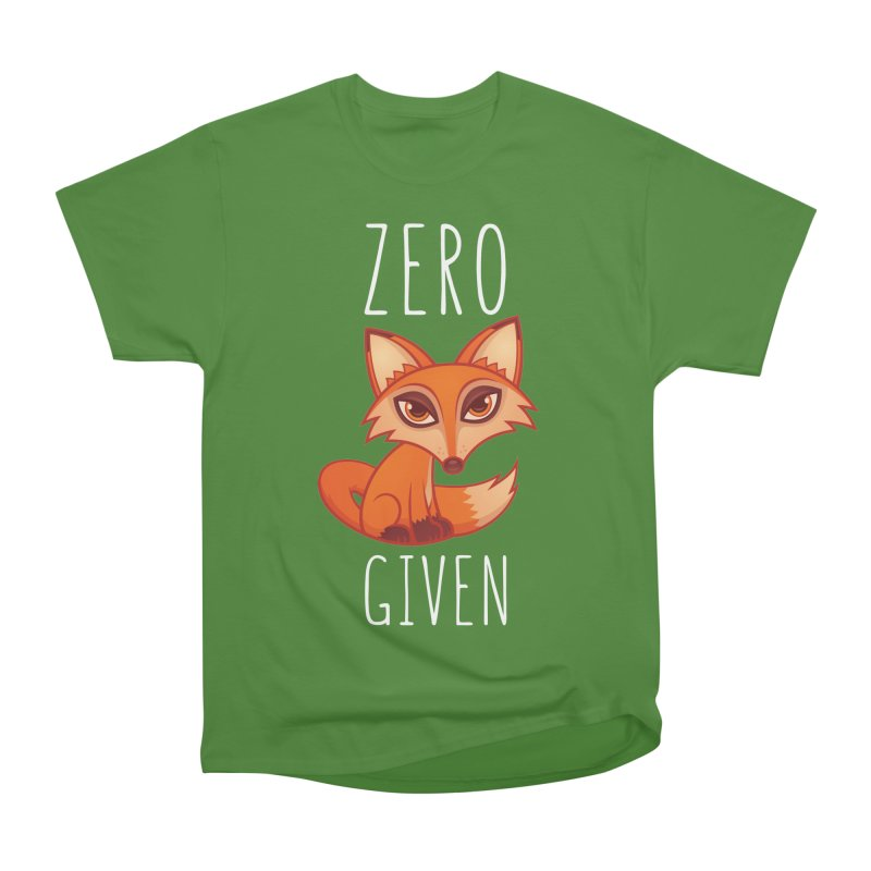Zero Fox Given Women's Classic Unisex T-Shirt by Fizzgig's Artist Shop