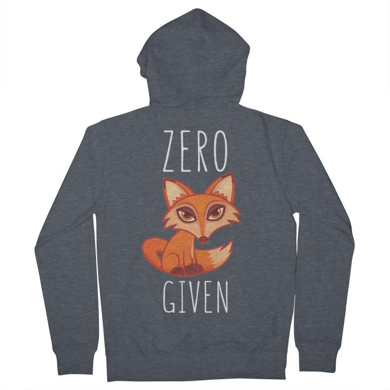 Zero Fox Given Women's Zip-Up Hoody by Fizzgig's Artist Shop