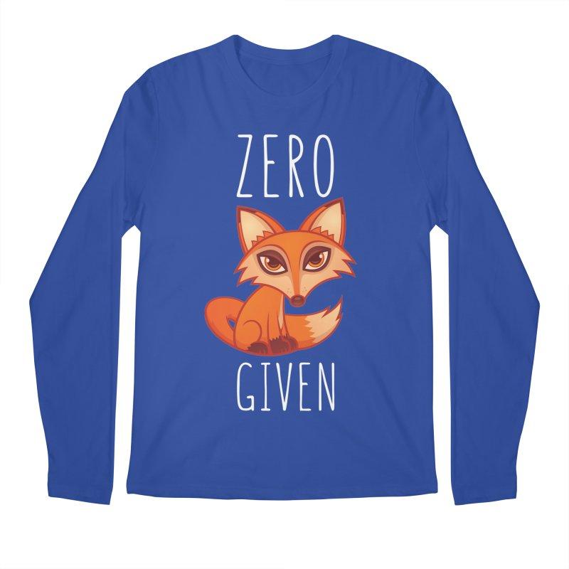Zero Fox Given Men's Longsleeve T-Shirt by Fizzgig's Artist Shop