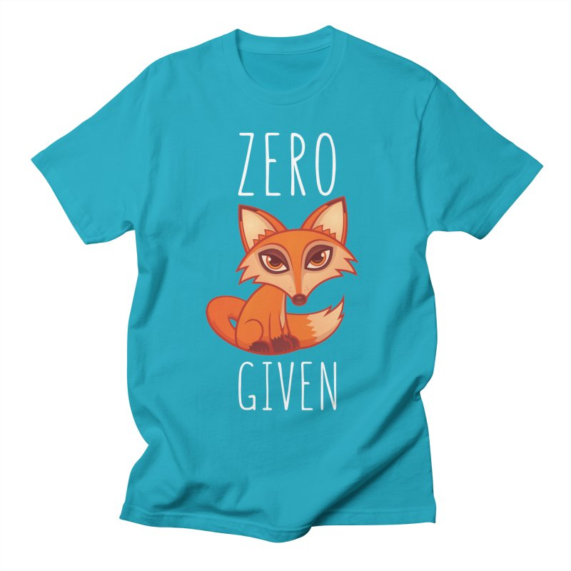 Zero Fox Given Men's T-Shirt by Fizzgig's Artist Shop
