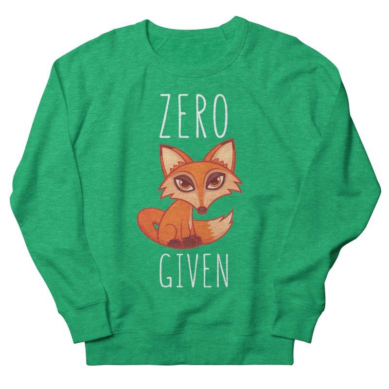 Zero Fox Given Men's Sweatshirt by Fizzgig's Artist Shop