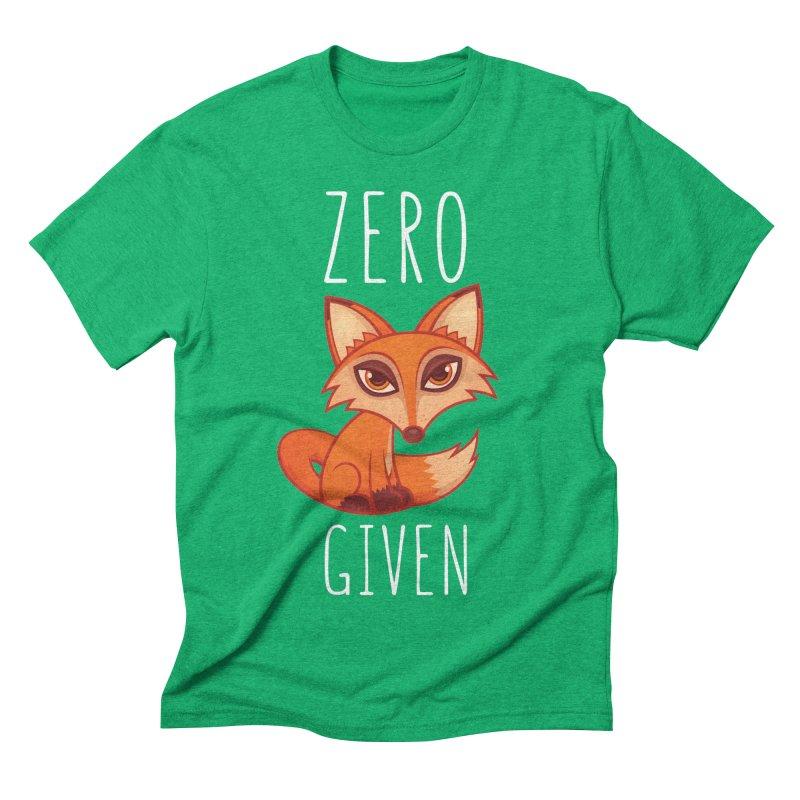 Zero Fox Given Men's Triblend T-Shirt by Fizzgig's Artist Shop