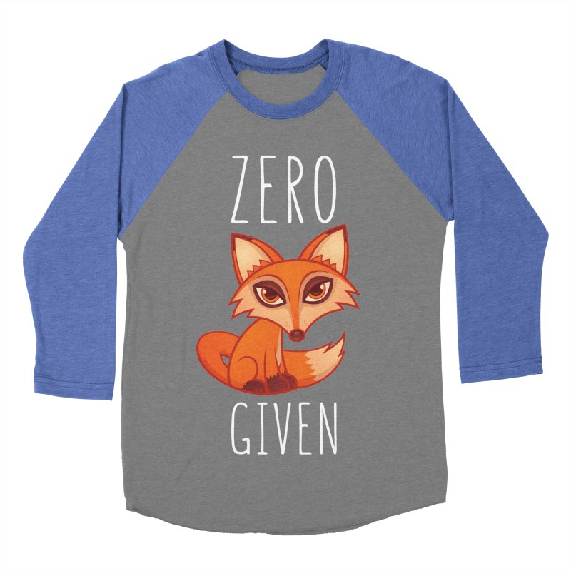 Zero Fox Given Women's Baseball Triblend T-Shirt by Fizzgig's Artist Shop