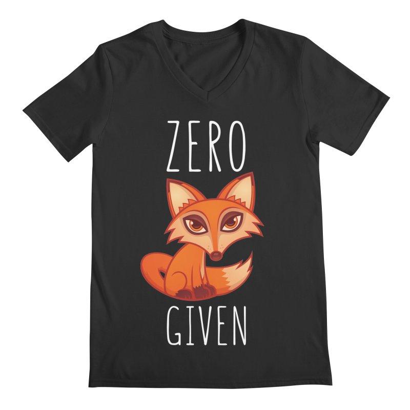 Zero Fox Given Men's V-Neck by Fizzgig's Artist Shop