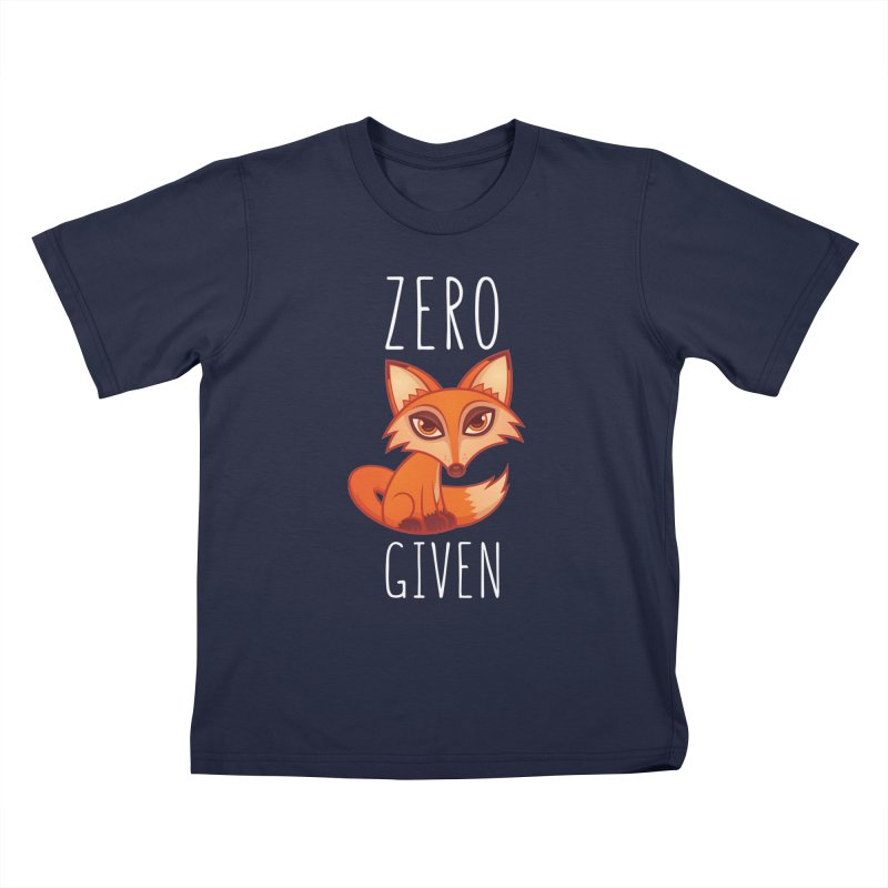 Zero Fox Given Kids T-Shirt by Fizzgig's Artist Shop