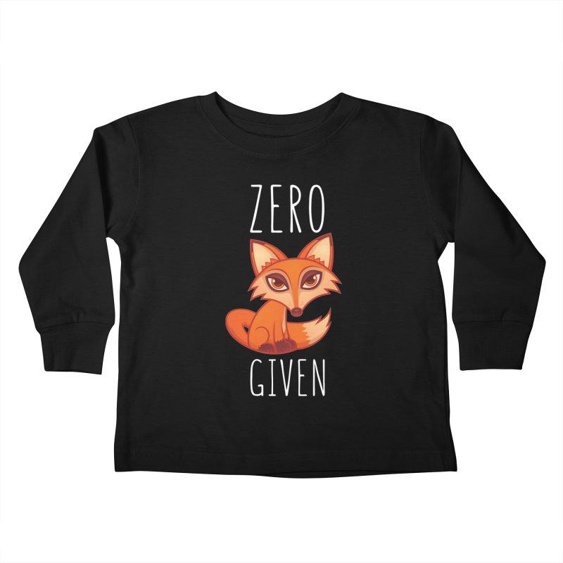 Zero Fox Given Kids Toddler Longsleeve T-Shirt by Fizzgig's Artist Shop