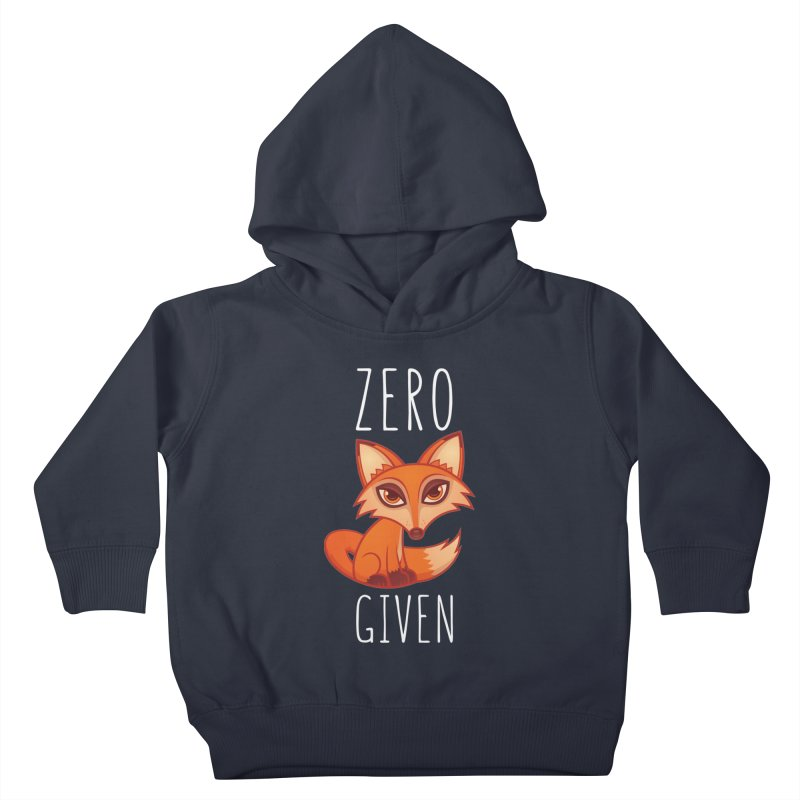 Zero Fox Given Kids Toddler Pullover Hoody by Fizzgig's Artist Shop