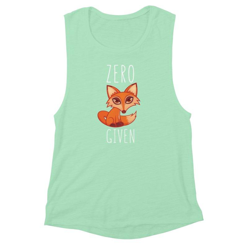 Zero Fox Given Women's Muscle Tank by Fizzgig's Artist Shop