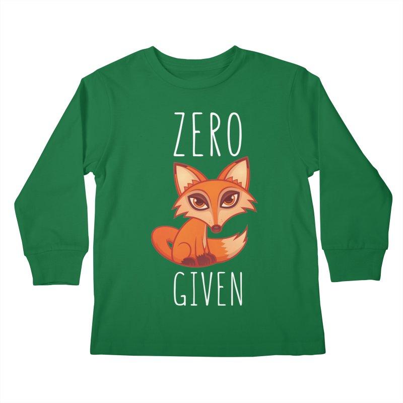 Zero Fox Given Kids Longsleeve T-Shirt by Fizzgig's Artist Shop