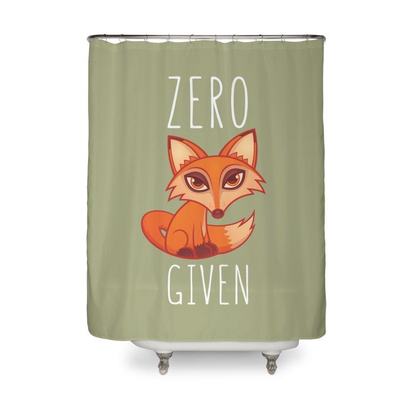 Zero Fox Given Home Shower Curtain by Fizzgig's Artist Shop