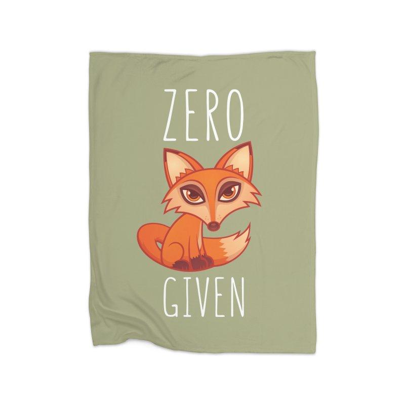 Zero Fox Given Home Blanket by Fizzgig's Artist Shop