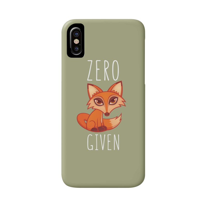 Zero Fox Given Accessories Phone Case by Fizzgig's Artist Shop