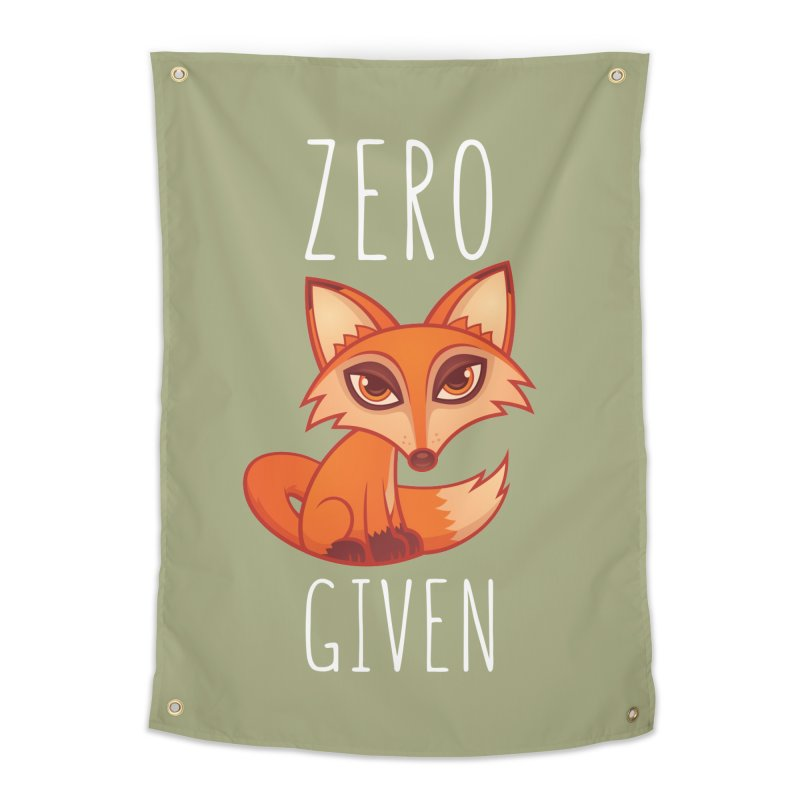 Zero Fox Given Home Tapestry by Fizzgig's Artist Shop
