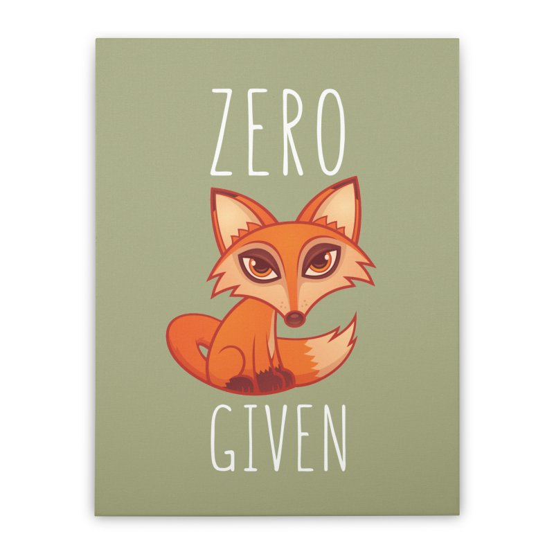 Zero Fox Given Home Stretched Canvas by Fizzgig's Artist Shop