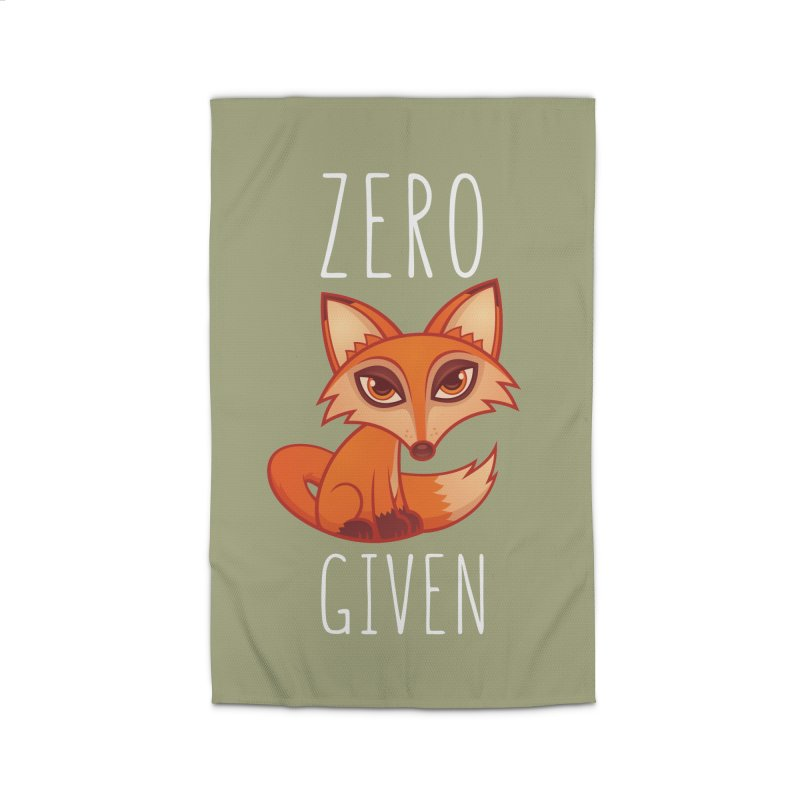 Zero Fox Given Home Rug by Fizzgig's Artist Shop
