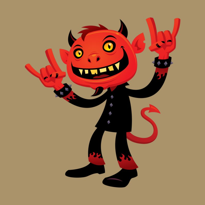 Heavy Metal Devil by Fizzgig's Artist Shop