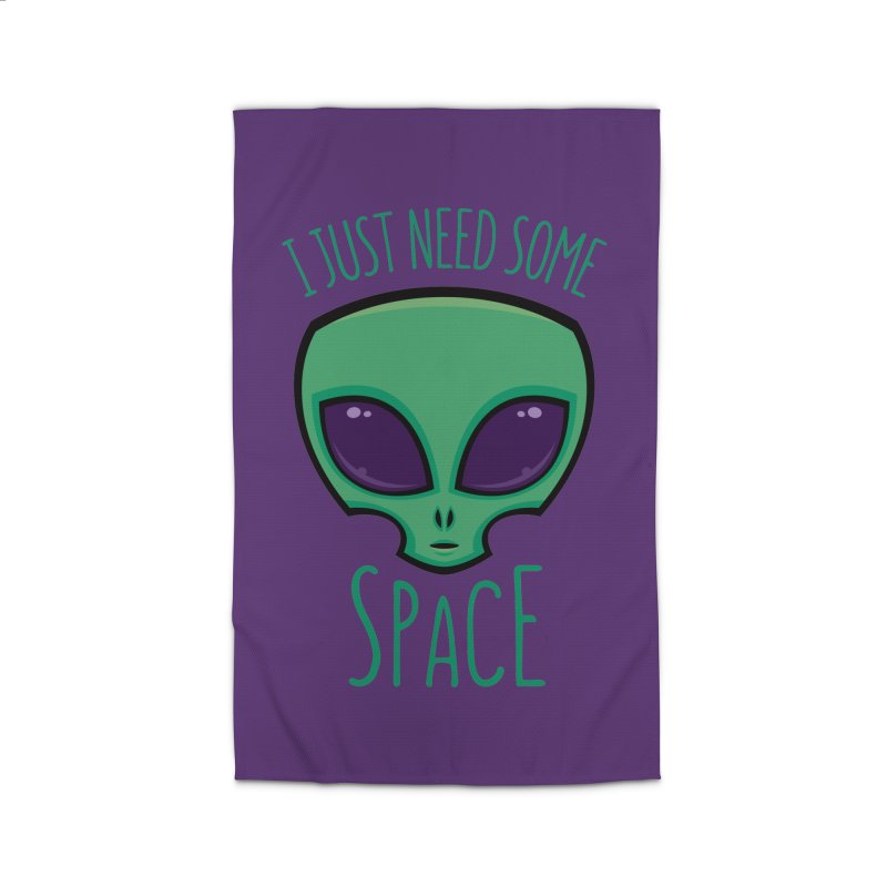 I Just Need Some Space Alien Home Rug by Fizzgig's Artist Shop