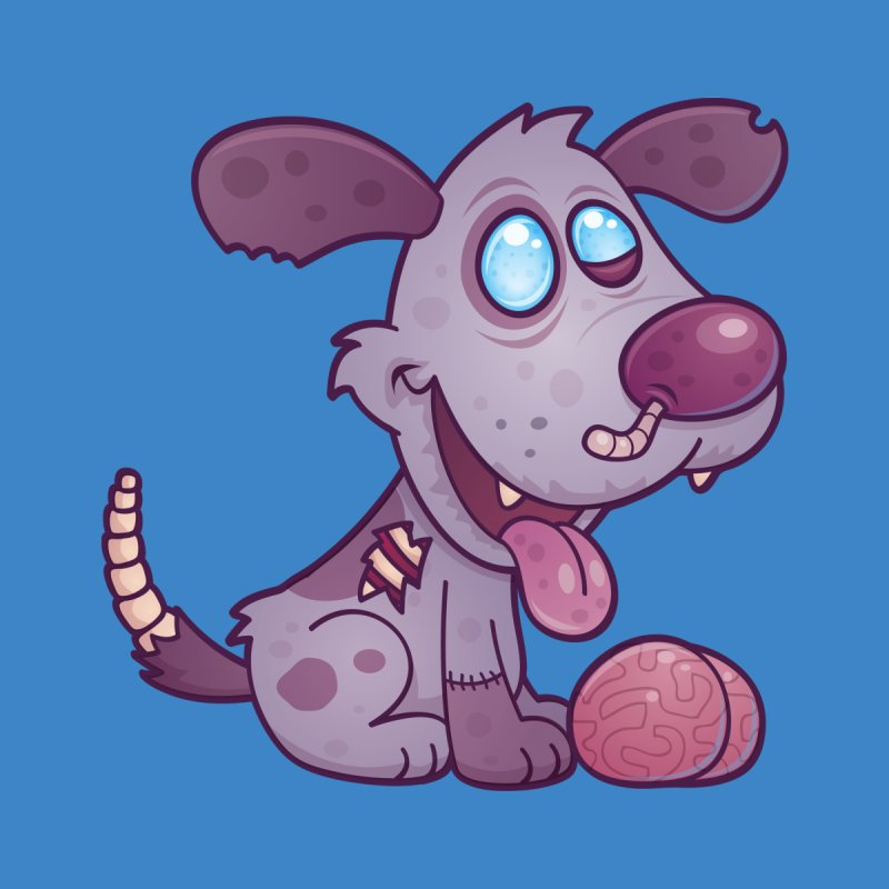 Zombie Puppy by Fizzgig's Artist Shop