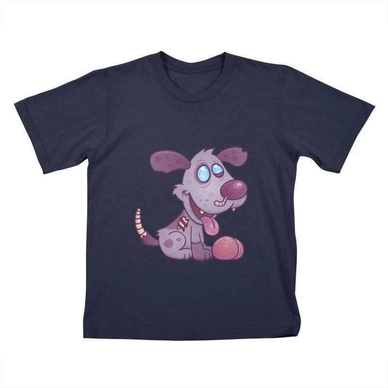 Zombie Puppy Kids T-Shirt by Fizzgig's Artist Shop