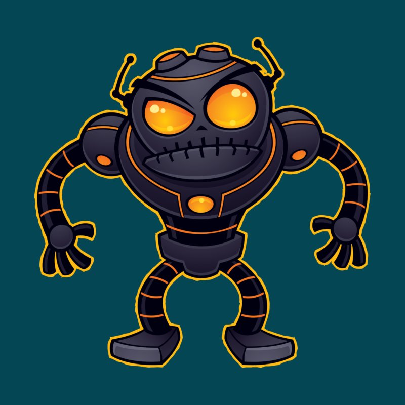 Angry Robot None  by Fizzgig's Artist Shop