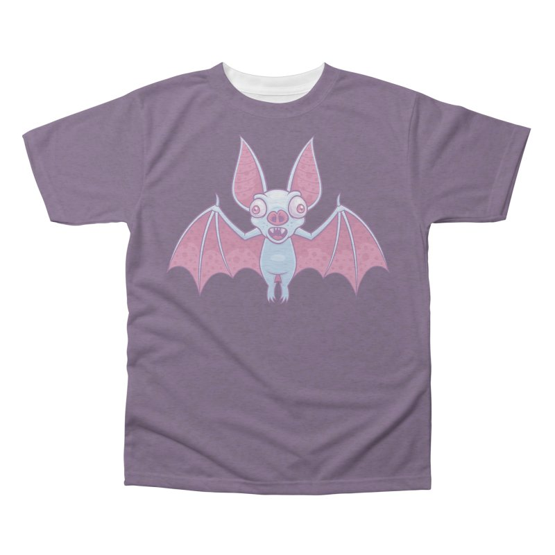 Albino Vampire Bat Men's Triblend All Over Print by Fizzgig's Artist Shop