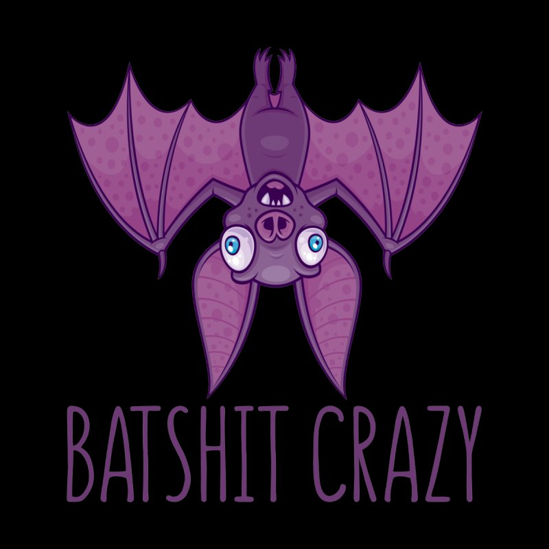 Batshit Crazy Wacky Cartoon Bat by Fizzgig's Artist Shop