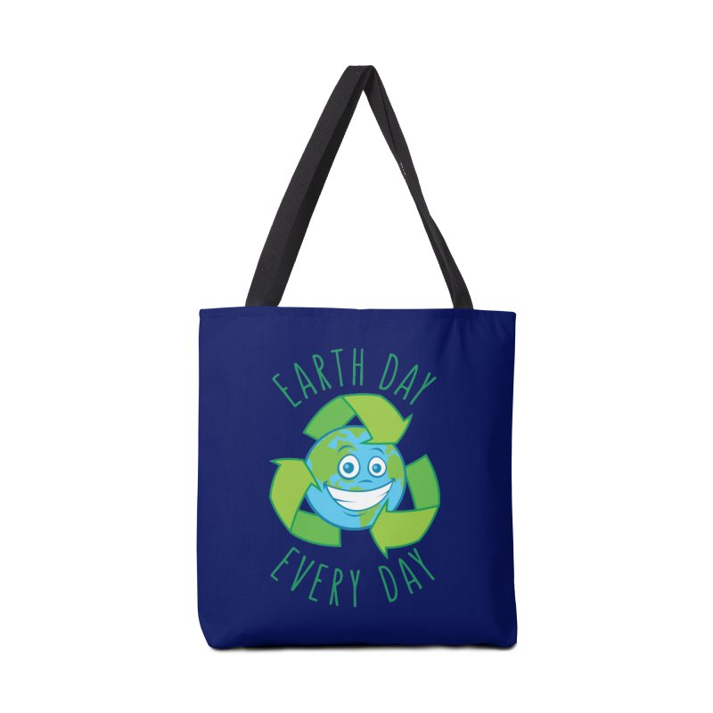 Earth Day Every Day Recycle Cartoon Accessories Bag by Fizzgig's Artist Shop